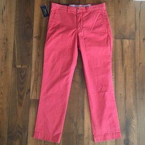 Polo Ralph Lauren Pink Salmon Classic Fit Pants